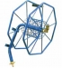 WALL MOUNTED HOSE REEL 100M OF 1/2 inch HOSE