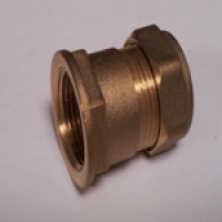 15mm Copper Compression Adaptor x 0.50 inch FBSP