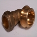 15mm Copper Compression 90deg Elbow x 0.375 inch MBSP