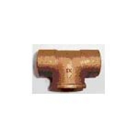 15mm x 15mm x 0.50 inch FBSP COPPER END FEED TEE